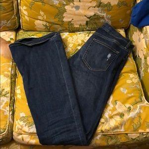 Gap skinny flare jeans